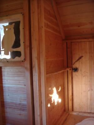 Apparition de la sorcière dans la cabane